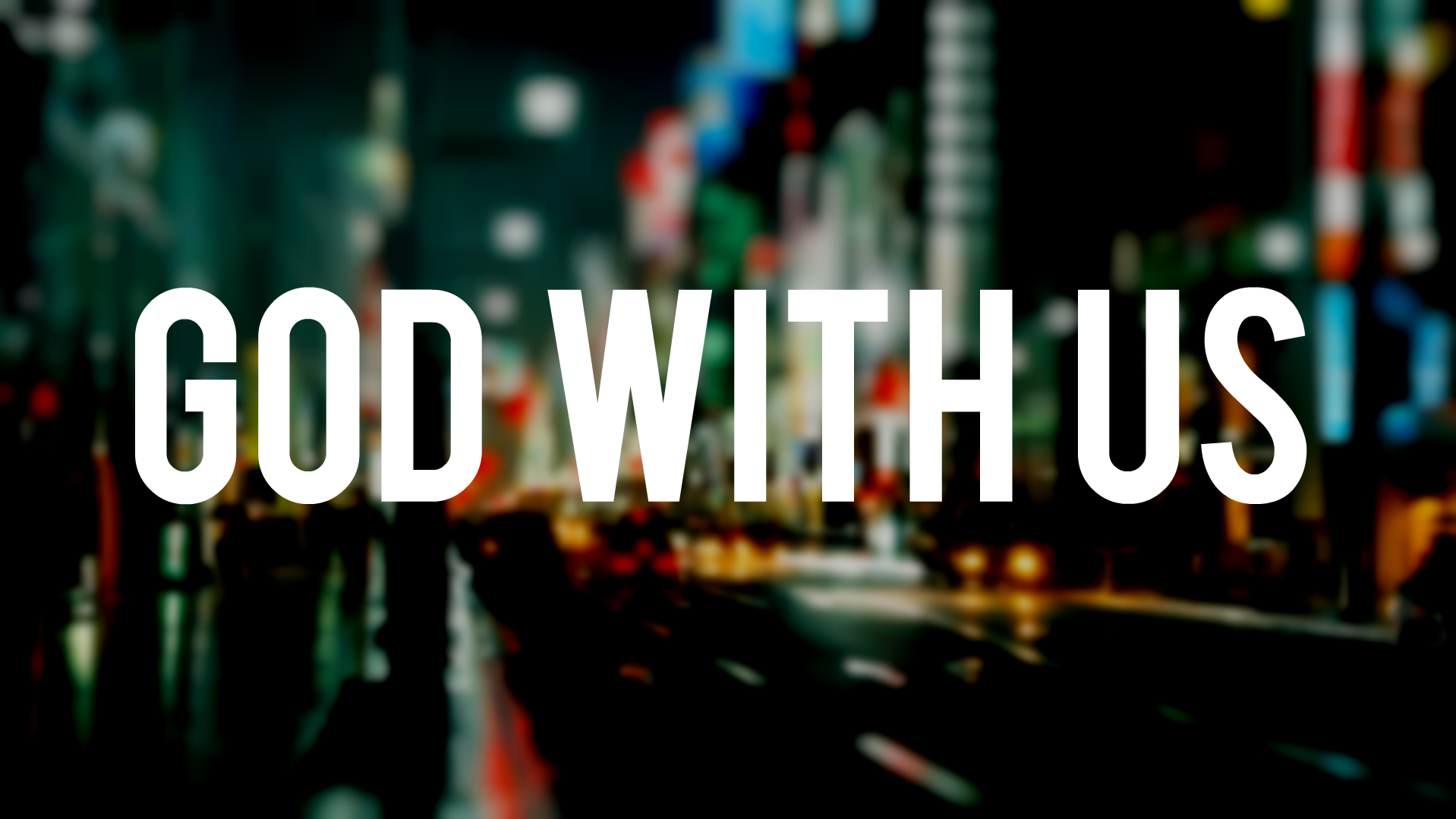 """The Gift of """"God With Us"""""""
