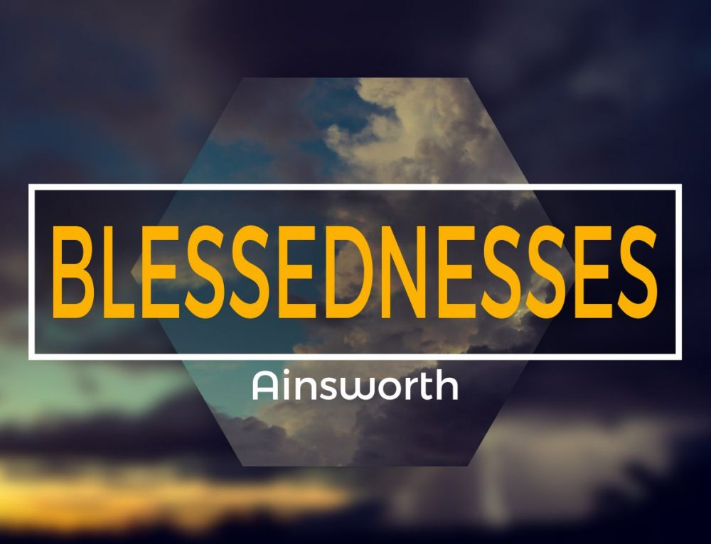 Lasting Blessedness from the God Who Blesses Eternally – Psalm 1
